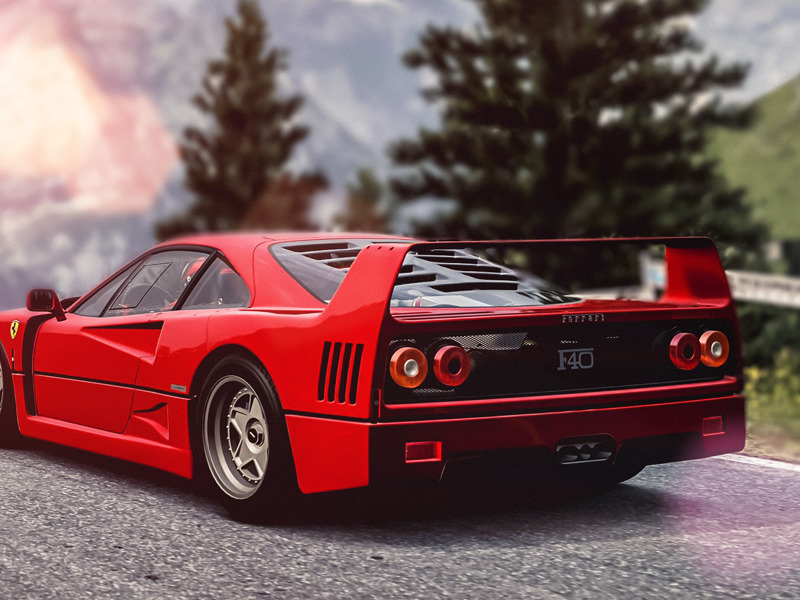 LEGENDS: The Ferrari F40 is Unlike Any Other Supercar | Web2Carz
