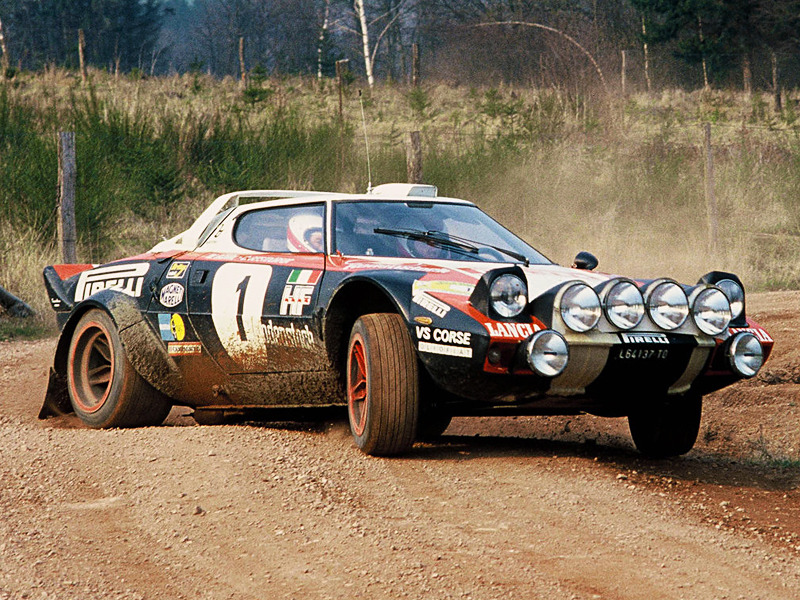 Of all the amazing rally cars, the Lancia Stratos is the one we'd want to own.