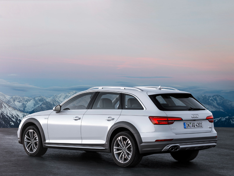 The Audi A4 Allroad Quattro Is One Interesting Wagon