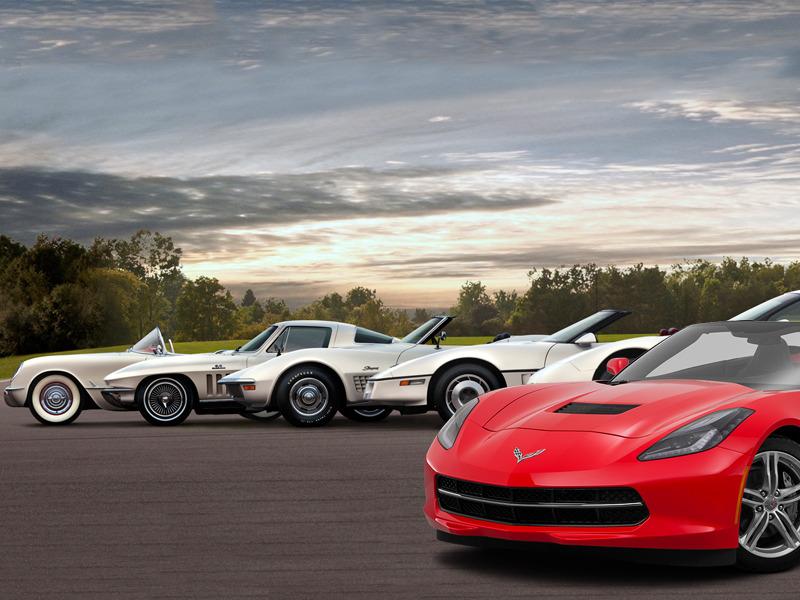Ferrari Models History Photo Galleries Specs Autoevolution >> Auto Evolution The Chevy Corvette Through The Generations Web2carz