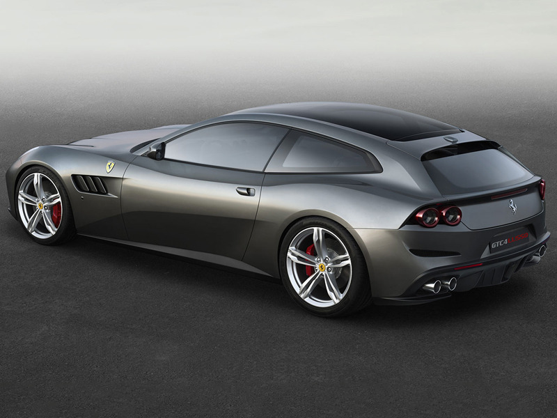 The Ferrari GTC4 Lusso Replaces the FF as the nd's 12 Cylinder ...