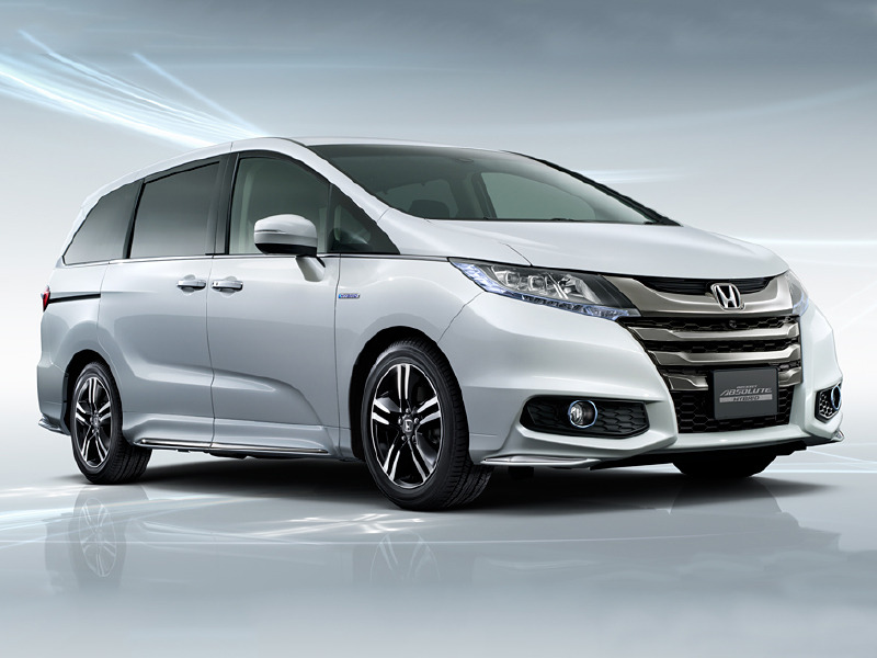 2016 Honda Cr Z >> Honda Is Selling Hybrid Odyssey Minivans in Japan | Web2Carz