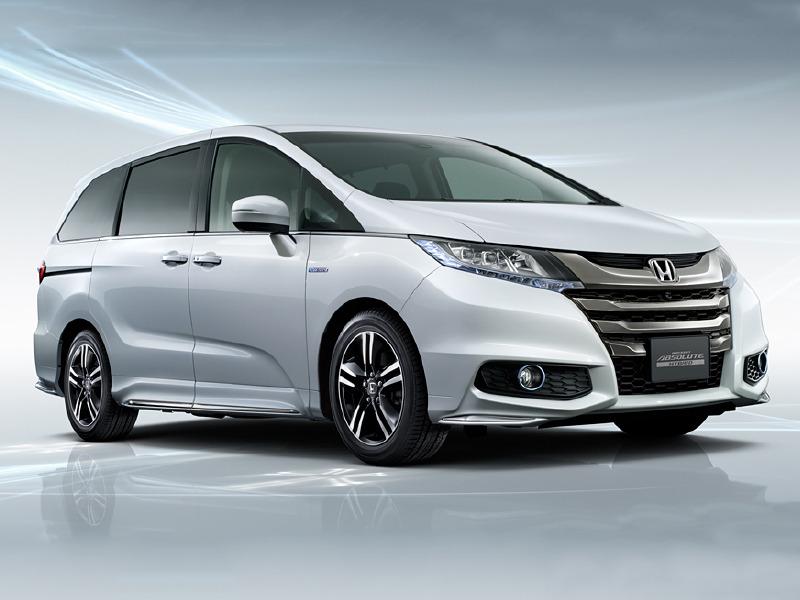 honda is selling hybrid odyssey minivans in japan web2carz. Black Bedroom Furniture Sets. Home Design Ideas