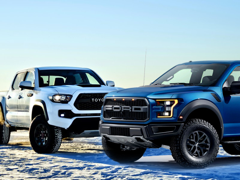 Want This, Buy This: Ford F-150 SVT Raptor vs. Toyota ...