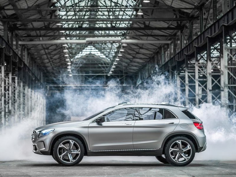 The Mercedes Benz Gla Cl Is Essentially A Cuv With Wagon Like Proportions