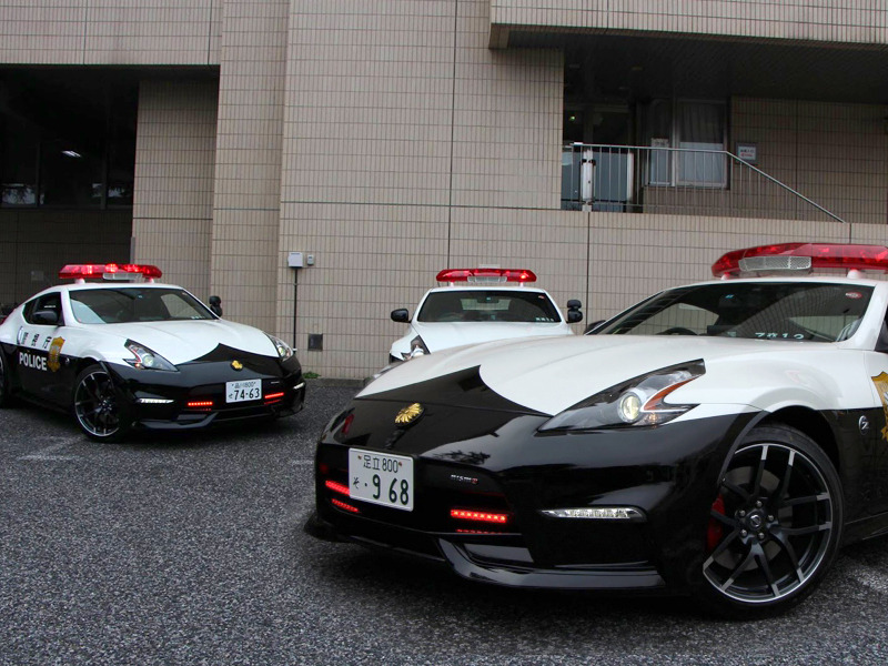 Three Nissan 370Z Nismos Are Now Police Cars in Tokyo, Japan | Web2Carz