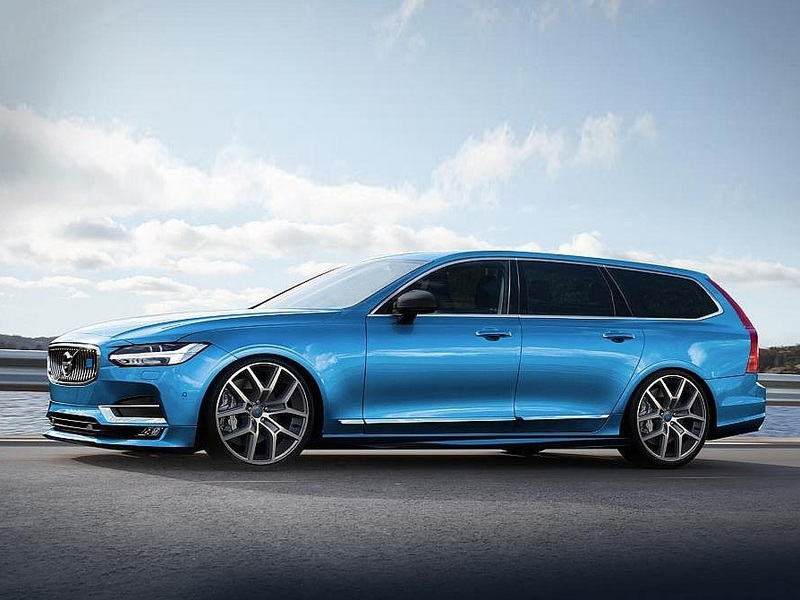 The Actual Polestar Version Of V90 Might Look Like This Someday But Not Yet
