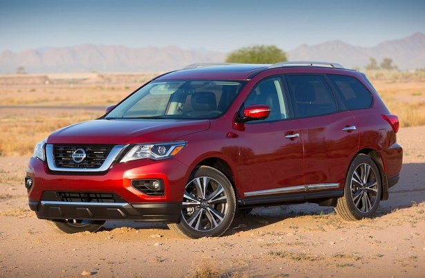 The 2017 Nissan Pathfinder Gets a New Face | Web2Carz