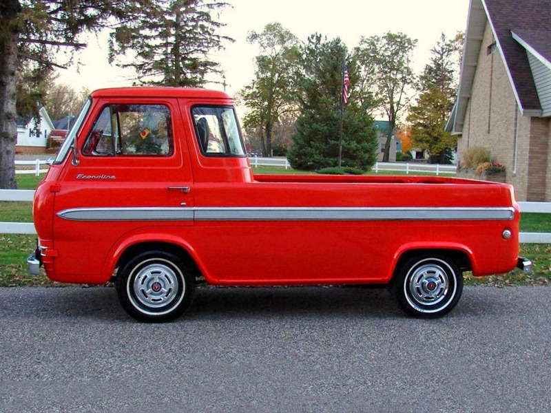 The Case for the Cabover Pickup Truck | Web2Carz