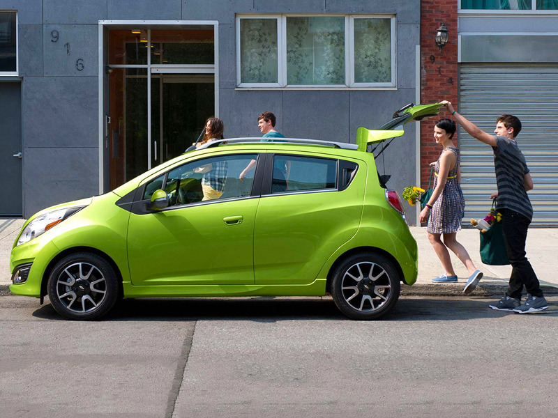 The Minuscule Chevy Spark Packs In Everything You Need