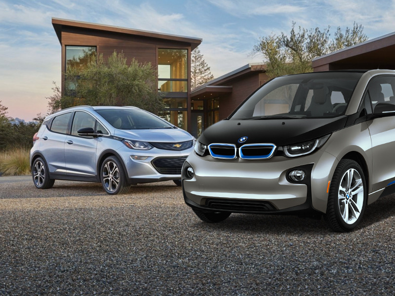 Versus: Chevrolet Bolt vs  BMW i3   Web2Carz