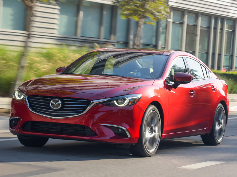The Mazda6 Is Just One Of Many Cars With A Prodigious Total Range
