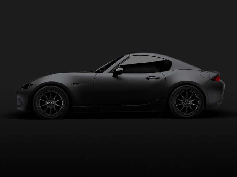 Mazda's Miata RF Kuro is just one of the sleek cars Mazda is showing off at SEMA.