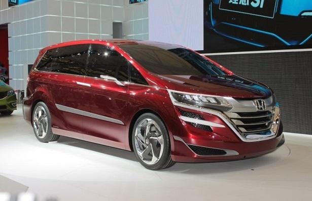 The Rumor Mill: The 2018 Honda Odyssey | Web2Carz