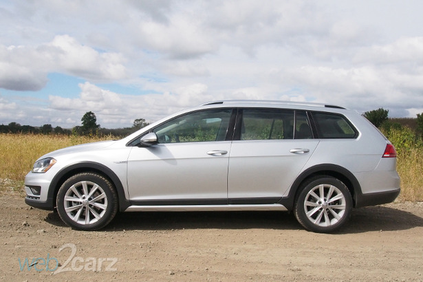 vw alltrack profile