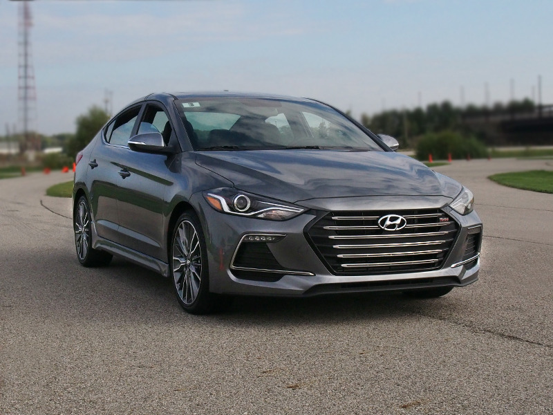 Original First Drive 2017 Hyundai Elantra Sport Goes Autocrossing At The Tire