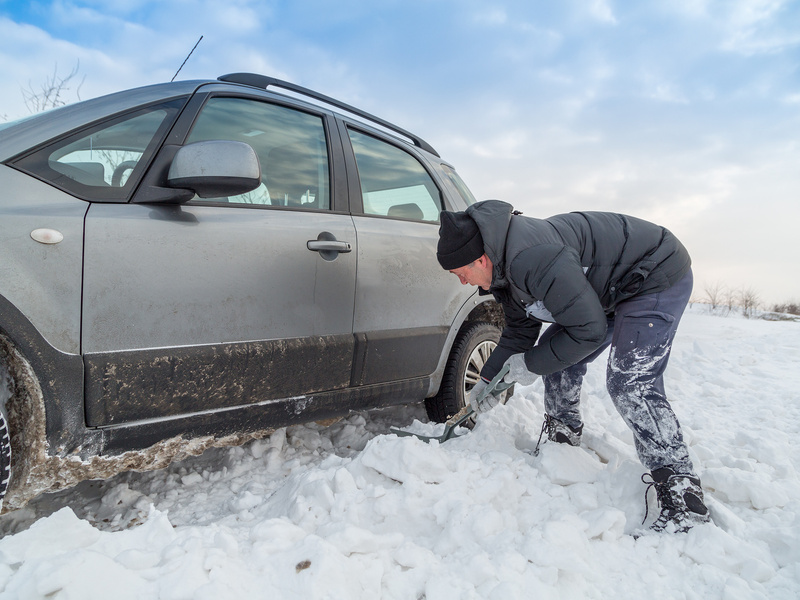 Even if you're not in a hurry, it's never fun getting stuck in the snow