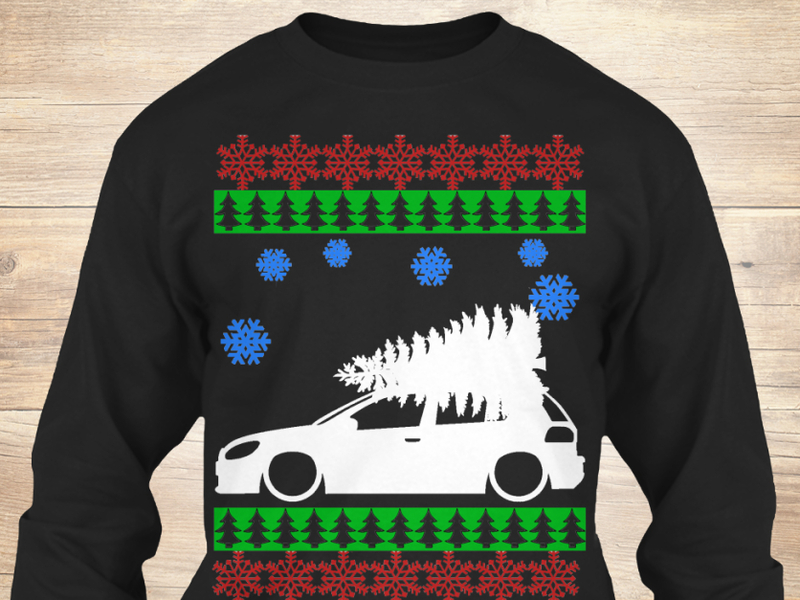 Any one of these cars will seriously outdo the ugly Christmas sweater gift.