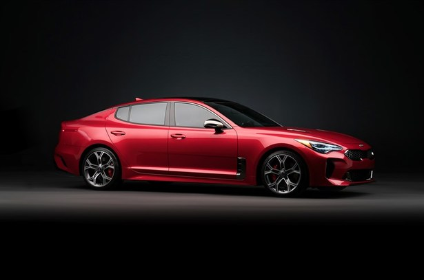 kia stinger gt profile