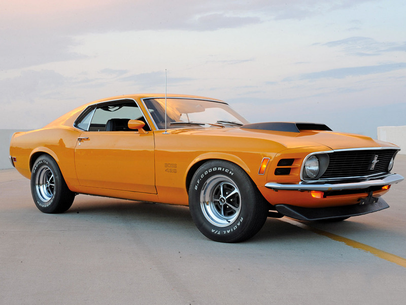 The 5 Biggest, Baddest Muscle Cars From the Past | Web2Carz