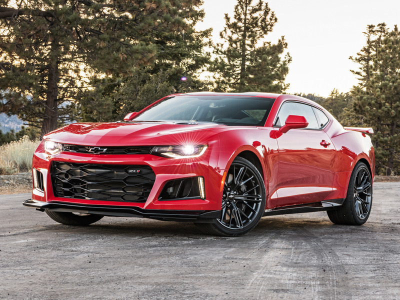The Chevrolet Camaro ZL1 Can Go 198 mph | Web2Carz