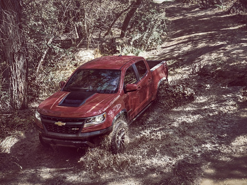 The Chevy Colorado ZR2 is a true off-road machine.