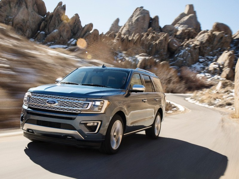 The Ford Expedition moves people, trailers and all sorts of cargo.