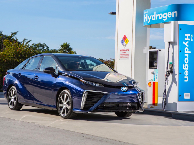 Plan for hydrogen powered vehicles entering hong