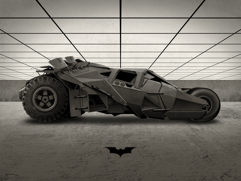 The Tumbler from the Christian Bale movies. One of the best Batmobiles of all time.