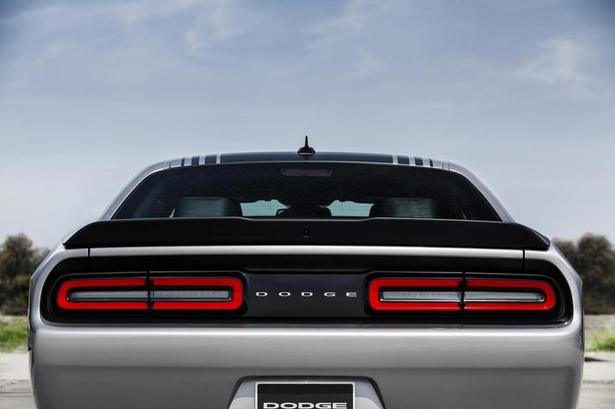 Dodge challenger taillights