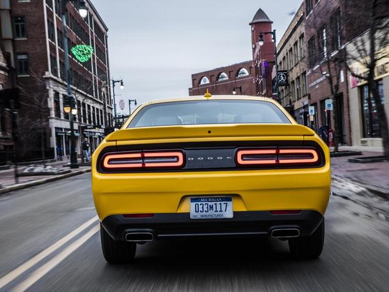 Dodge's Challenger has some of the best taillights out there.