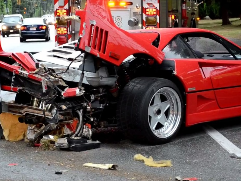 These Five Supercar Crashes Show Us That Money Can T Buy Skills
