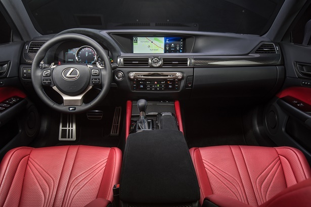 gs f spor t interior