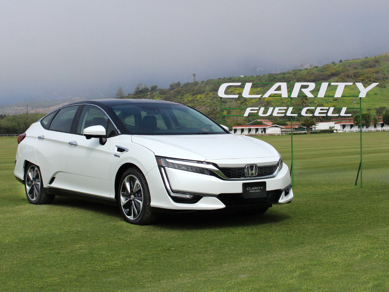 First Drive 2017 Honda Clarity Fuel Cell Web2carz