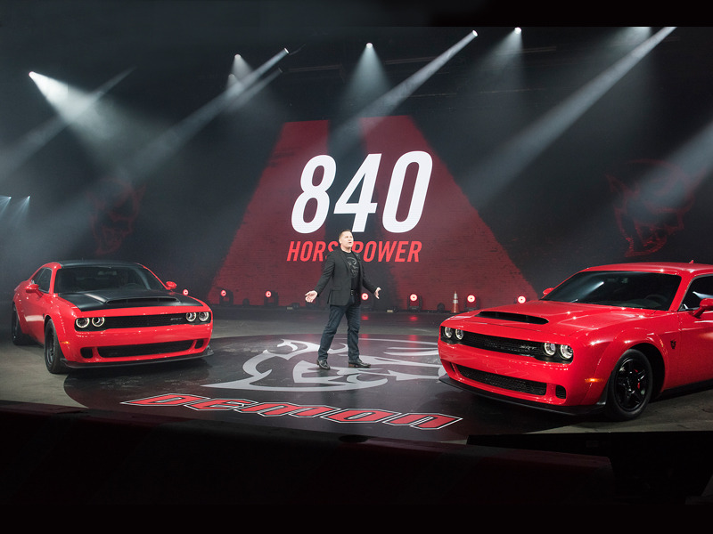 The Dodge Challenger SRT Demon is straight from Hell, but it will take you to Heaven.