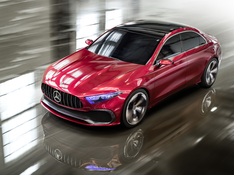 This car could mark a change for Mercedes-Benz small car design.