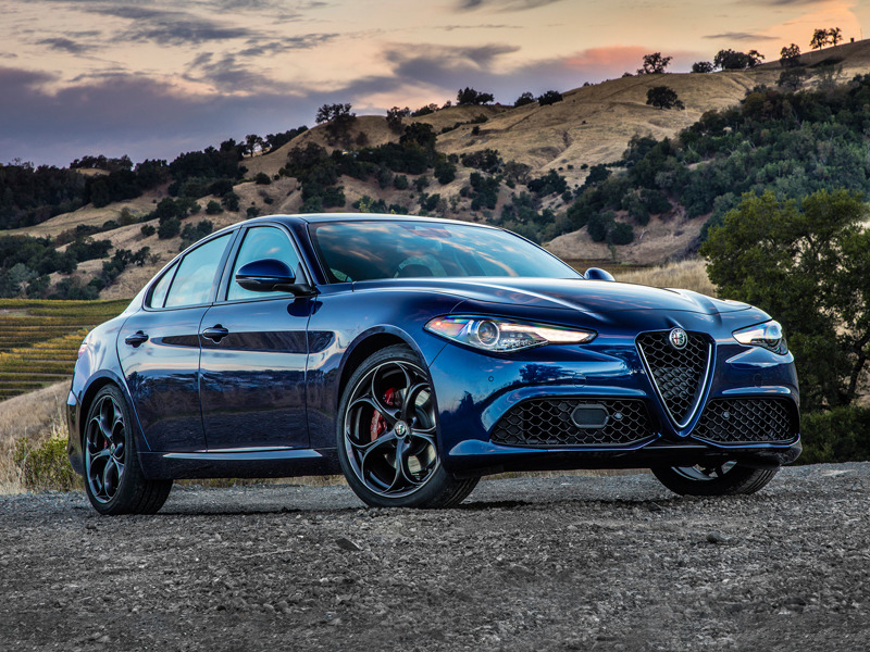 Even without the carbon fiber trim and the 505 horsepower, the Giulia is superb.
