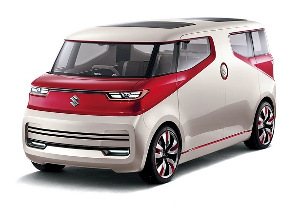Its A 3 Row Compact Minivan With Configurable Interior The Thing Looks Positively Awesome Tall Sides Split Opening