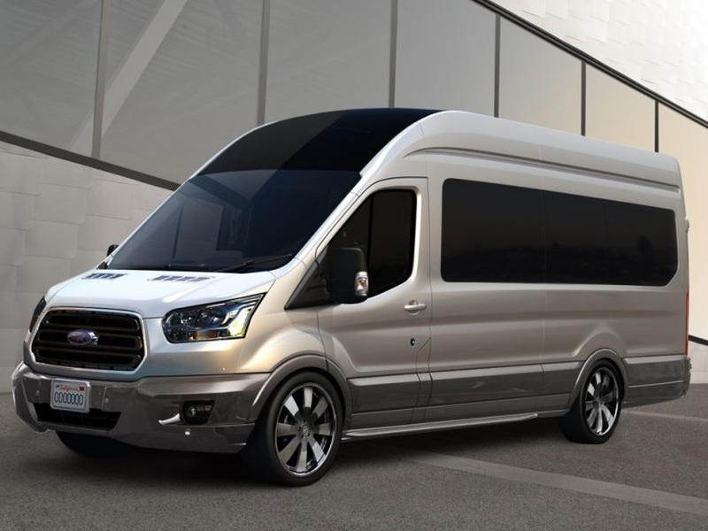 The Ford Transit is just one of the vans that can be converted into almost anything.
