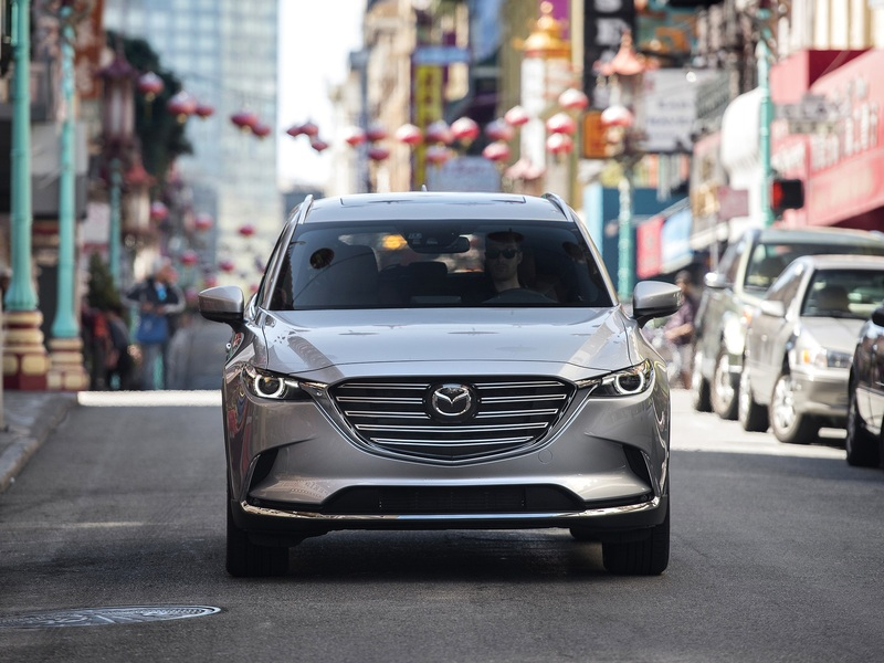 Mazda's CX-9 will likely lead the way for the brand's development.