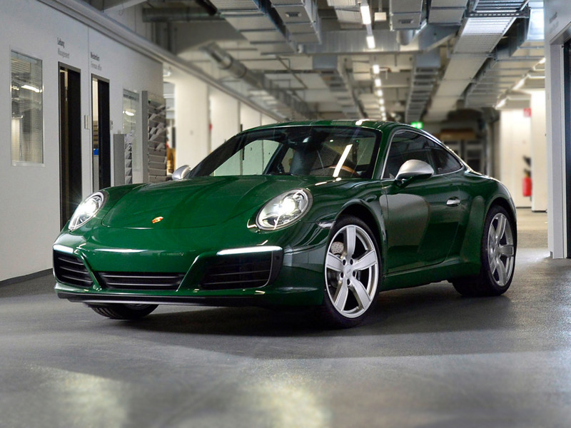 Porsche's millionth 911 is a beautiful sight to behold.