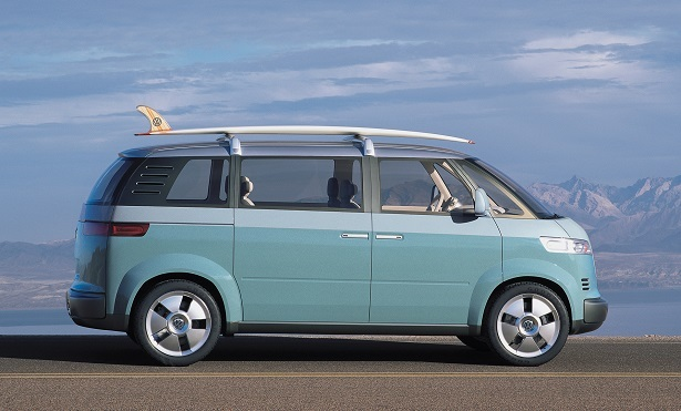 The VW Microbus Concept From 2001 Was Probably One Of Best Examples What A Handsome Minivan Could Look Like It Nostalgic With Styling Cues