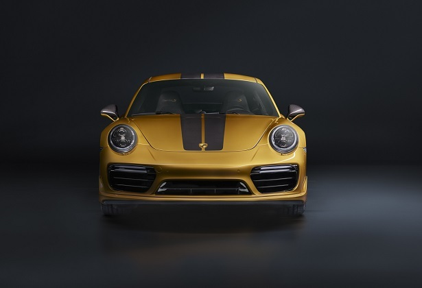 911 turbo s exclusive front
