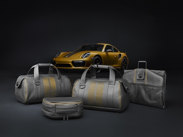 911 turbo s exclusive luggage