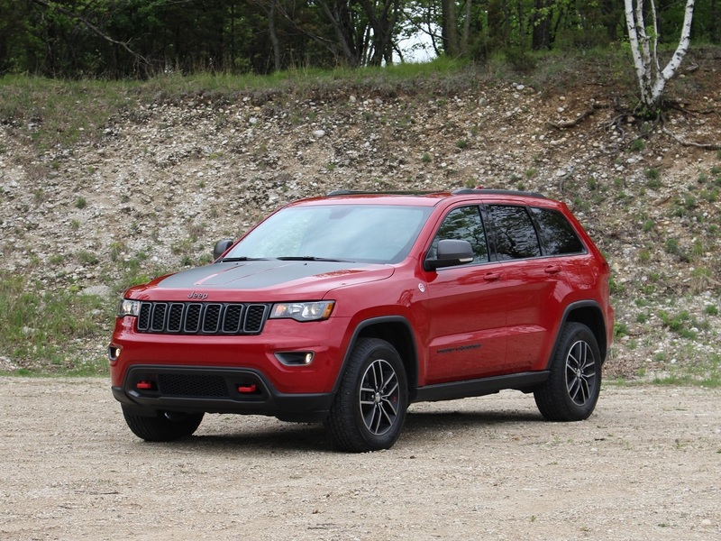 This is the Grand Cherokee you want when you find a good trail.