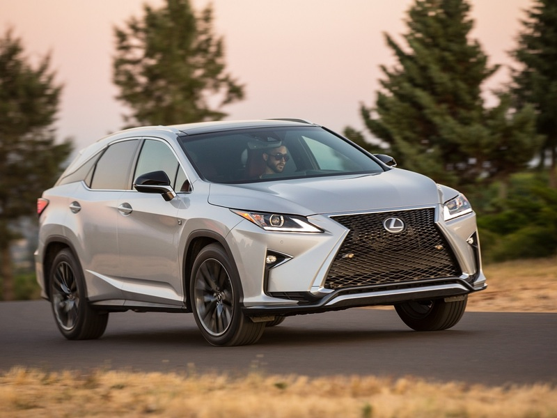 The Lexus RX has won numerous awards in 2016.