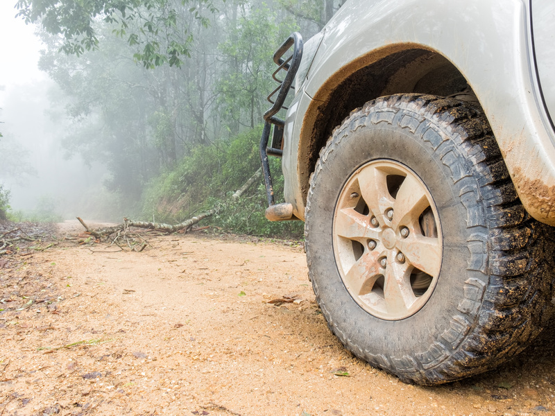 What style of tire is best for that off-road trek you're planning?