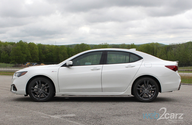 first drive 2018 acura tlx a spec web2carz. Black Bedroom Furniture Sets. Home Design Ideas