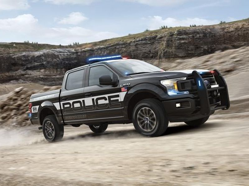 The Ford F 150 Police Responder Is Flatbed Fuzz Heaven Web2carz