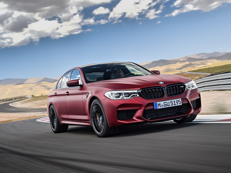 The 2018 Bmw M5 Officially Breaks Cover Web2carz